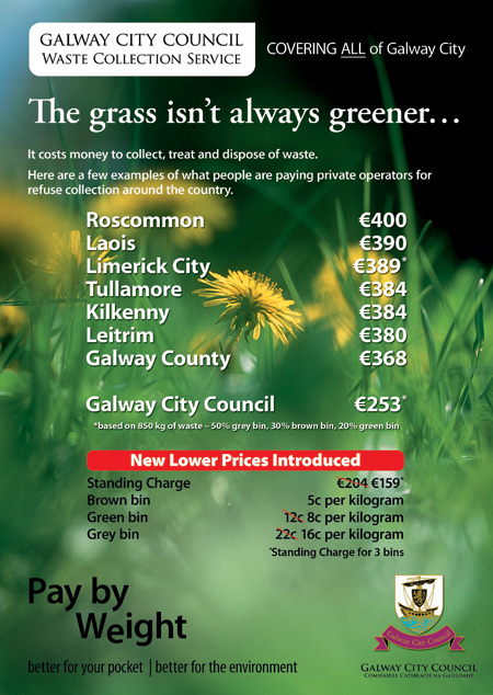 Galway City Council Advertisement Design